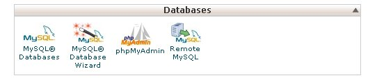mysql database setup at HostGator